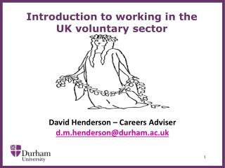Introduction to working in the UK voluntary sector