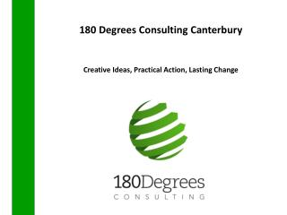 180 Degrees Consulting Canterbury