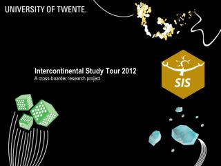 Intercontinental Study  T our 2012