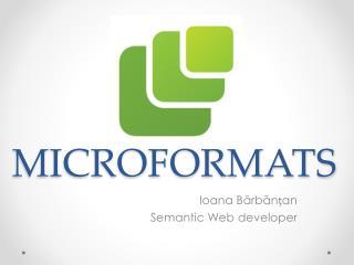MICROFORMATS