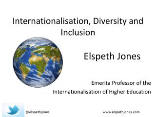 Internationalisation , Diversity and Inclusion