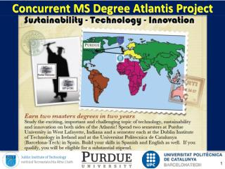 Concurrent MS Degree Atlantis Project