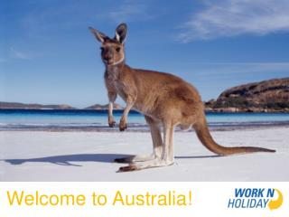 Welcome to Australia!