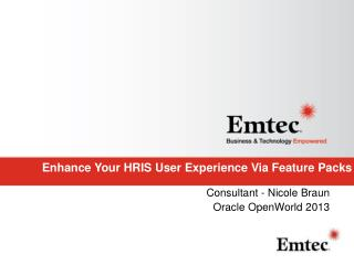 Enhance Your HRIS User Experience Via Feature Packs