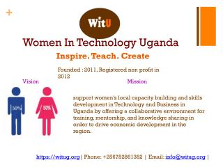 Women In Technology Uganda