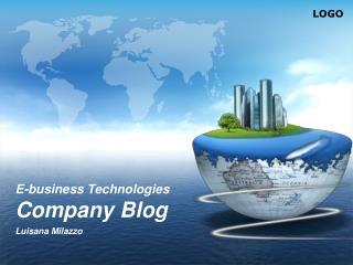 E-business Technologies Company Blog