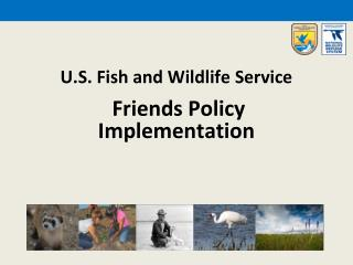 U.S. Fish and Wildlife  Service Friends Policy  Implementation