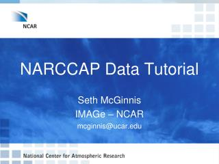 NARCCAP Data Tutorial