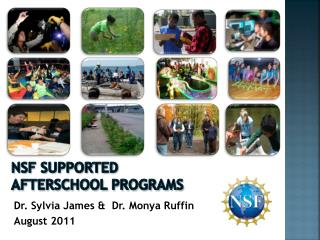 NSF Supported Afterschool Programs