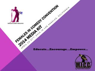 Females in comedy convention  2014 Media Kit