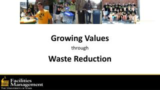 Growing Values through Waste Reduction