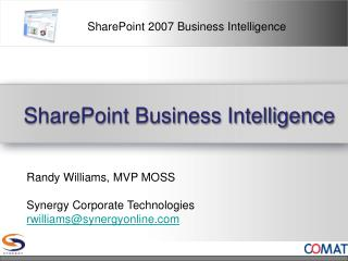 SharePoint Business Intelligence