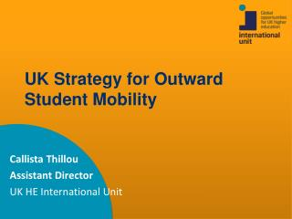 UK Strategy for Outward Student Mobility