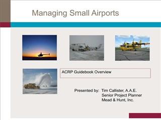 Managing Small Airports