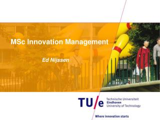 MSc Innovation Management