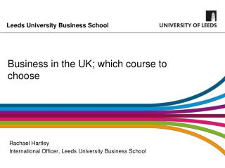 Business in the UK; which course to choose