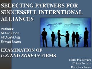 EXAMINATION OF U.S .  AND  KOREAN  FIRMS
