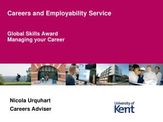Global Skills Award Managing your Career