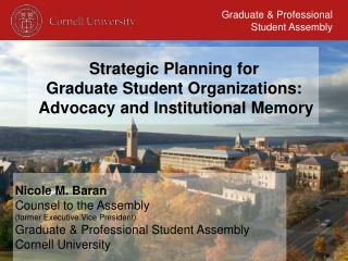Graduate & Professional Student Assembly