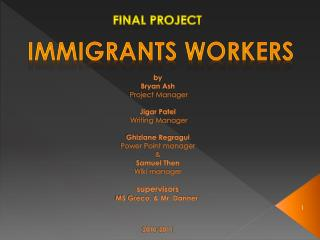 Immigrants Workers