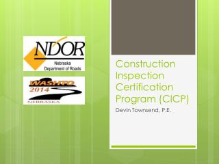 Construction Inspection Certification Program (CICP)