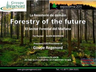Forestry  of the future