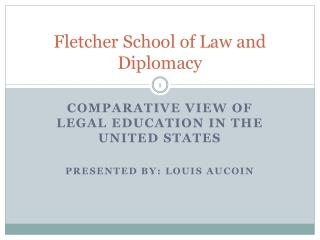 Fletcher School of Law and Diplomacy