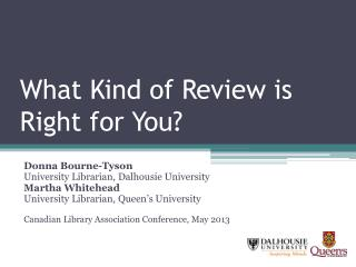 What Kind of Review is Right for You?