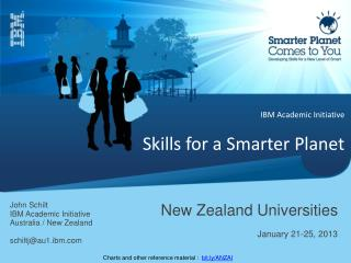IBM Academic Initiative Skills for a Smarter Planet