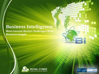 Business Intelligence Meet Current Market Challenges With Business Insight