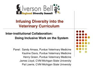 Infusing Diversity into the Veterinary Curriculum