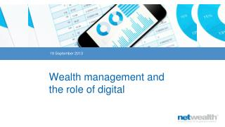 Wealth management and the role of digital