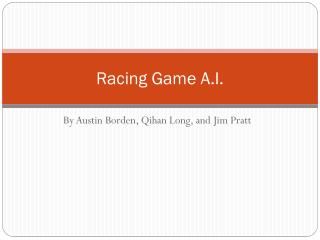 Racing Game  A.I.