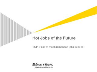 Hot Jobs of the Future
