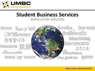 Student Business Services