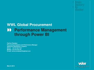 WWL Global Procurement