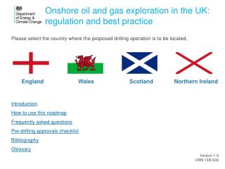 Onshore oil and gas exploration in the UK: regulation and best practice