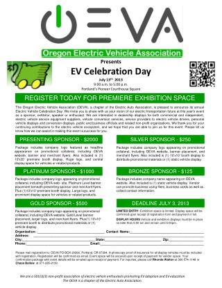We are a 501(c)(3) non-profit association of electric vehicle enthusiasts promoting EV adoption and EV education