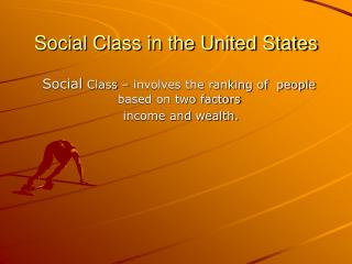 Social Class in the United States