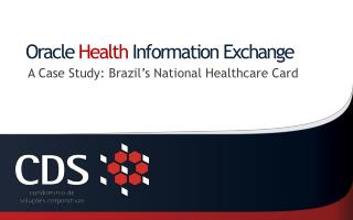 Oracle  Health  Information Exchange
