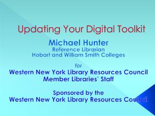Updating Your Digital Toolkit