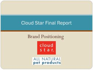 Cloud Star Final Report