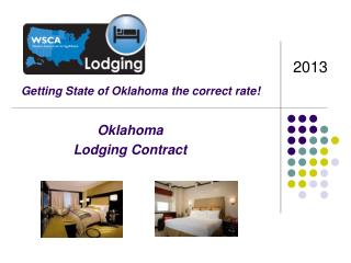 Oklahoma Lodging Contract