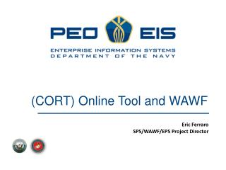 (CORT) Online Tool and WAWF