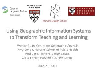 Using Geographic Information Systems to Transform Teaching and Learning