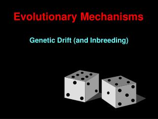 Evolutionary Mechanisms