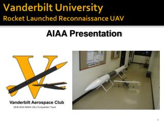 Vanderbilt University Rocket Launched Reconnaissance UAV