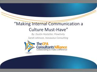 """Making Internal Communication a Culture Must-Have"""