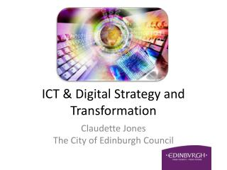 ICT & Digital Strategy and Transformation