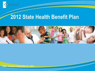 2012 State Health Benefit Plan